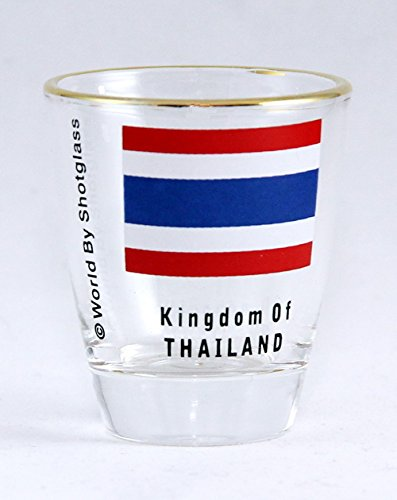 Thailand Flag Shot Glass