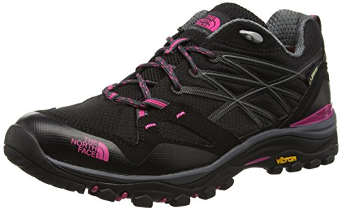 The North Face Women's Hedgehog Fastpack GTX (EU) Low Rise Hiking Boots, Multicolour (Tnf Black/Society Pink), 8.5 UK (41.5 EU)