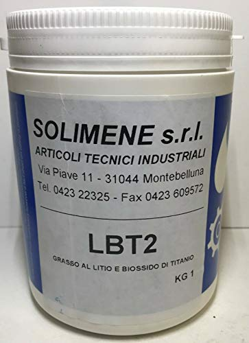 Grasa blanca de litio y bióxido de titanio LBT 2 | 1 kg