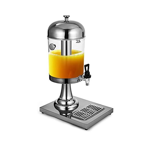 Anhon Dispensador de la Bebida con el Acero Inoxidable 8L Dispensador de