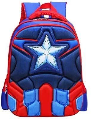 Best- Best Boy's Schoolbag Schoolbag Cartoon Cute Children Backpack boy Best- Best (Color : 2)