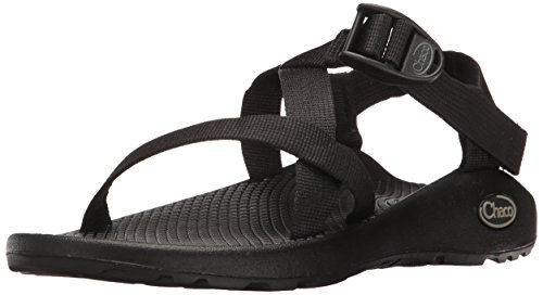 Chaco womens Z/1 Classic Sandal, BLACK, 10 W US