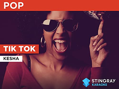 Tik Tok in the Style of Kesha