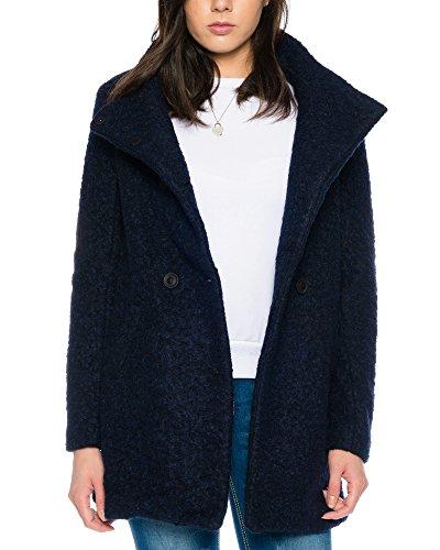 ONLY Damen onlSOPHIA NOMA Wool Coat CC OTW Mantel, Blau (Night Sky Detail:Melange), 40 (Herstellergröße: L)