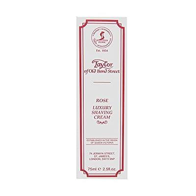 Taylor of Old Bond Street 75ml Rose Shaving Cream Tube