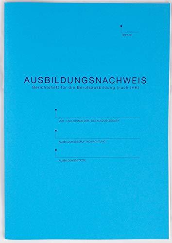 Handwerc Berichtsheft Ausbildungsnachweis/Ausbildungsnachweisheft (A4, tägliche Eintragung)