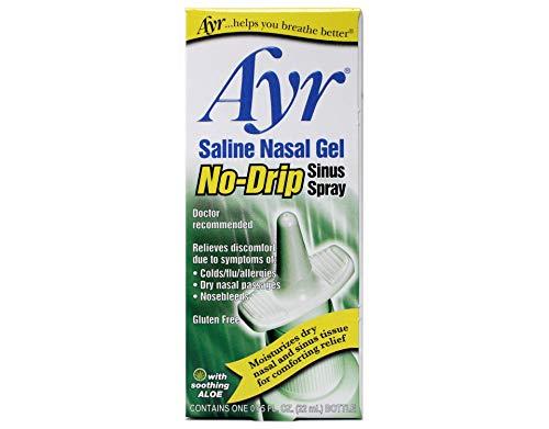 AYR SALINE NASAL GEL SPRAY .75oz by ASCHER B.F.AND COMPANY INC.