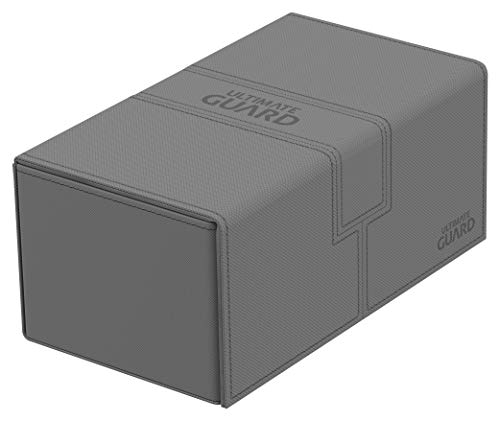 Ultimate Guard Twin Flip´n´Tray Deck Case 200+ Caja de Cartas Tamaño Estándar XenoSkin Gris