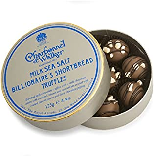 Charbonnel et Walker Sea Salt Billionaire's Shortbread Truffles, 4.4 Ounce
