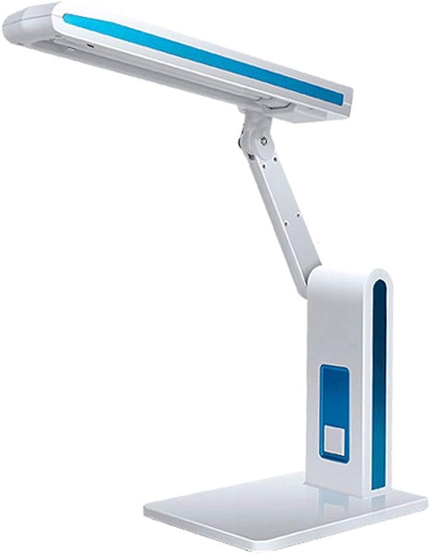Tischlampe ZJING energiesparende College-Studenten Gymnasiasten mit Augenschutz Schreibtisch Leselicht