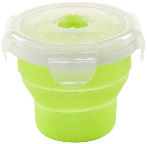 Nuvita Boîte Rétractable en Silicone Vert 230 ml