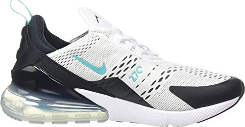 Nike Herren AIR MAX 270 Gymnastikschuhe, Mehrfarbig Black White Dusty Ca 001, 44 EU