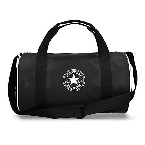 Converse Future Retro Duffel Bag Bolsa de Deporte, Unisex Adulto, Black, 18l