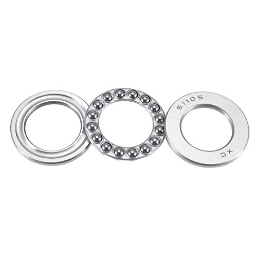 uxcell 51105 25mm x 42mm x 11mm Axial Ball Thrust Bearings