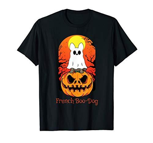 Funny French Boo-Dog Bulldog Halloween Gift Dog Lover T-Shirt
