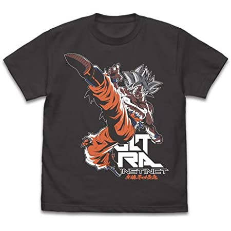 ドラゴンボール超 身勝手の極意 悟空 Tシャツ 2nd Ver. SUMI Mサイズ
