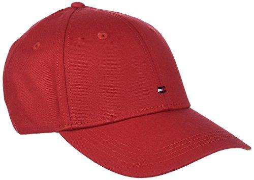 Tommy Hilfiger Herren Baseball Classic Bb Cap, Rot (Haute Red 902), One Size (Herstellergröße: OS)