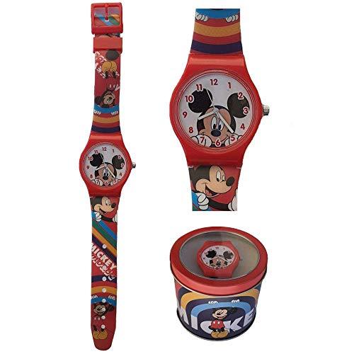 Armbanduhr Mickey Maus Disney Mickey Maus Analog in Blechdose - WD21199
