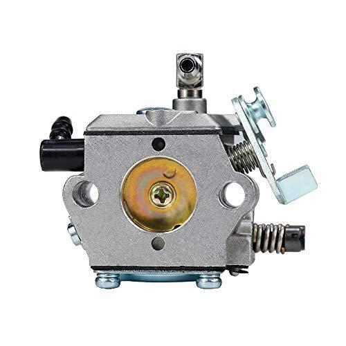 Lhyan Carburetor Carburetor Carbo Ajuste en STIHL MADRIA MS028 028 028AV Motosierra Reemplazo de carburador Compatible para Walbro WT-16B Herramienta de jardín Parte