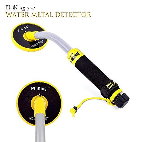 ETE ETMATE Metalldetekto Pulse Induction, PI-IKing 750 Unterwassermetalldetektor mit Vibrations- 30M voll Wasserdichten Metalldetektor LED