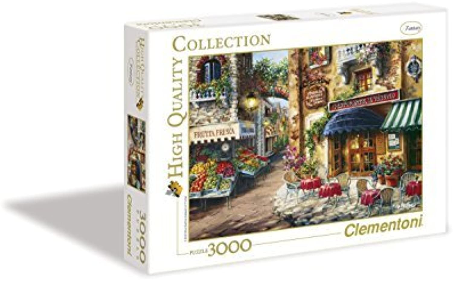 Buon Appetito 3000 Piece Jigsaw Puzzle by Clementoni