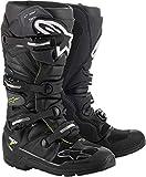 Alpinestars Tech 7 Enduro Drystar - Botas de motocross para hombre, negro (Negro / Gris), 49.5 EU
