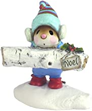 product image for Wee Forest Folk Yule Log Figurine