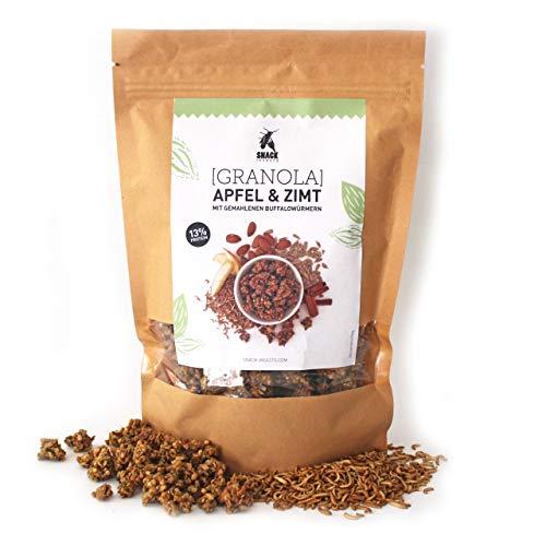 'SNACK insects' Granola mit proteinreichem Insekten-Mehl - essbare Insekten zum Essen