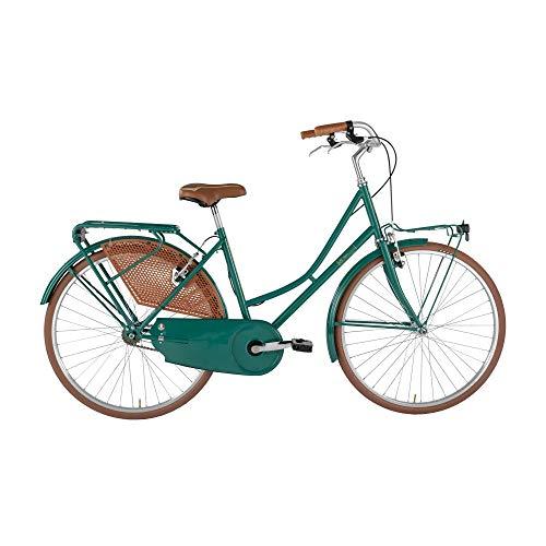 Alpina Bike Olanda, Bicicletta da Città Donna, Verde Smeraldo, 26