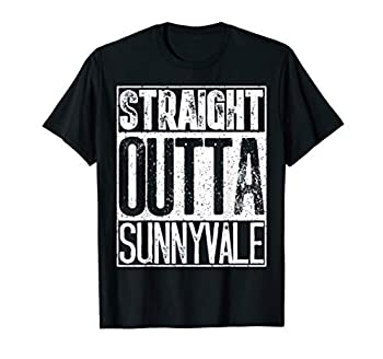 Straight Outta Sunnyvale Trailer Park Shirt - Camping Gift