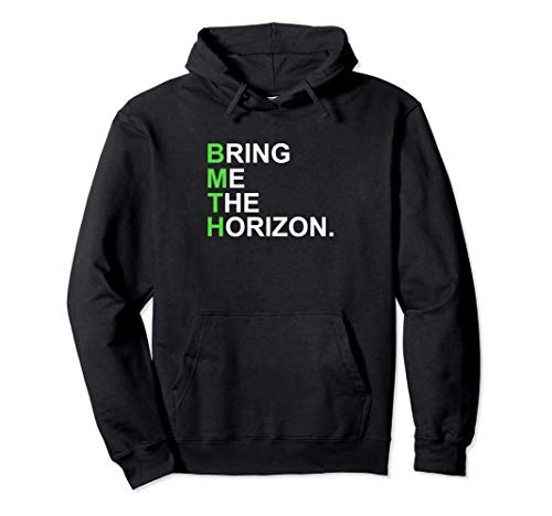 Bring Me The Horizon - Official Merchandise - Green Girl Pullover Hoodie