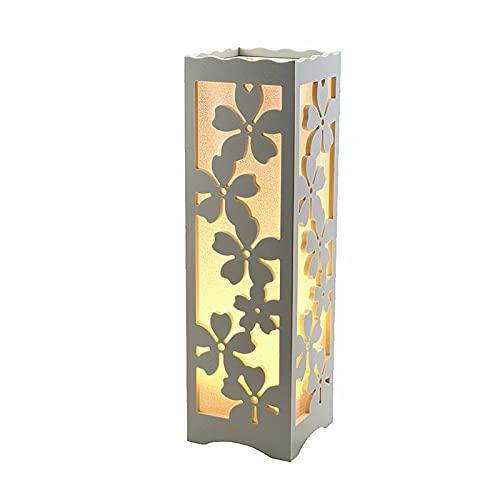 liulishop Lamparas de Mesita Lámpara de Mesa de Granja con Breve Sombra LED Lámpara de Escritorio Luz de Noche de Flor para la Mesa de la Sala de Estar Top Vintage Estilo Lámparas de mesilla