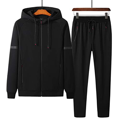 PRIJOUHE Men's Tracksuit Fitness Sport Suits Gym Sports 2...