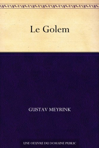 Le Golem (French Edition)