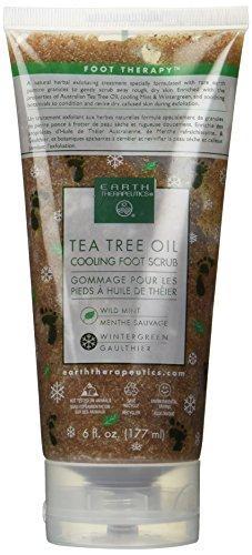 Tea Tree Oil Cooling Foot Scrub 6 fl oz