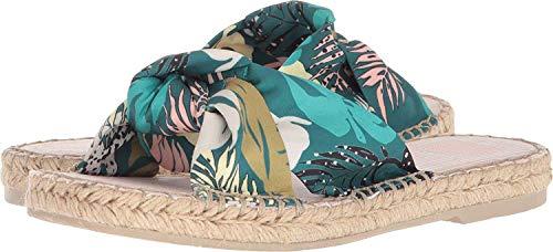 Dolce Vita Benicia Green Palm Print 8 M