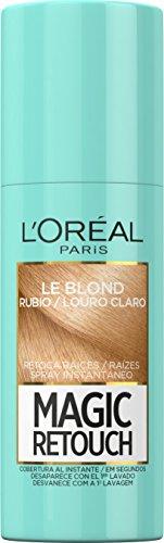 L'Oreal Paris Magic Retouch Spray Retoca Raíces, Tono: Rubio Claro - 75 ml