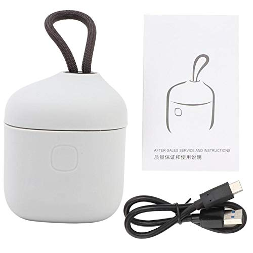 DAUERHAFT Cargador de batería Cargador de batería Duradero Lector de Tarjetas Materiales plásticos Blanco, para Gopro Hero 5/6/7(Two Batteries and One Charge Limit $39.9)