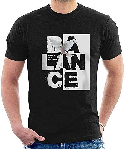 Armin Van Buuren Balance T-Shirt Graphic Top Printed tee Shirt for MensBlackS