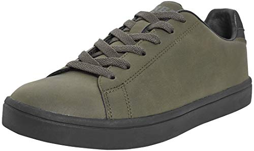 Urban Classics Summer Sneaker, Zapatillas Unisex Adulto, Multicolor Olive Black, 43 EU