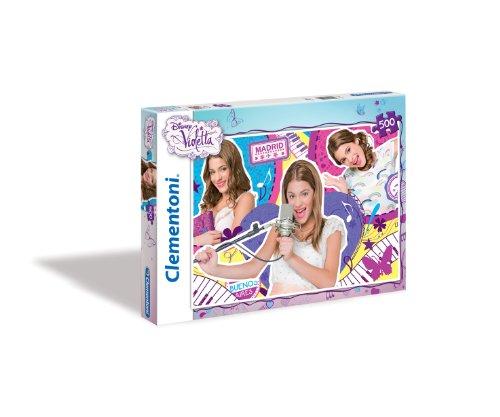 Clementoni 30414.1 - Puzzle - My World Violetta, 500 Teile