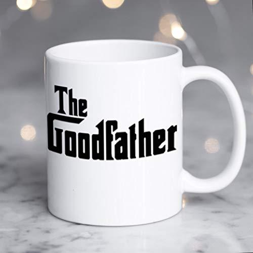 Taza personalizada de primera calidad con texto en inglés 'The Goodfather Spoof' (El padrino del padrino) para papá, taza personalizada para papá, taza personalizada para papá