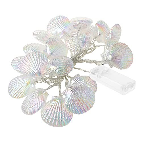 deendeng Guirnalda de luces LED de 3000 K de color blanco cálido para decoración de árbol de Navidad