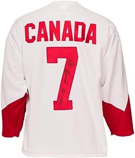 Phil Esposito Signed Team Canada 1972 Jersey