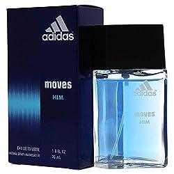 1dd2617dad95 Our Top Pick for Best Perfumes for Men. Adidas Moves For Men Eau De  Toilette Spray 1 Ounce
