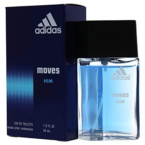 Adidas Moves For Men Eau De Toilette Spray, 1 Fl Oz