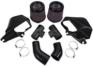 Stillen 402856 Air Intake System, Oiled Filter Intake - Infiniti Q50 16+ 3.0t Silver / Red Sport V37