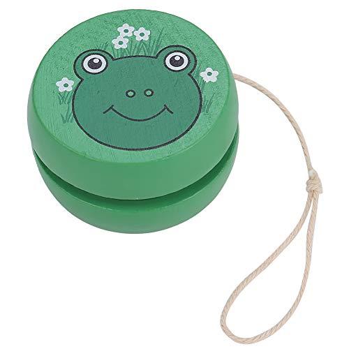 VEGBY1 Giocattolo di Yoyo, Giocattolo Educativo di Legno Yoyo della Palla del Fumetto per i Bambini dei Bambini Boy And Girl Holiday Birthday Yo-Yo Toy