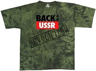 Liquid Blue Men's Beatles Back in The USSR Short Sleeve T-Shirt