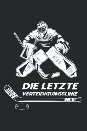 Ice Hockey Spieler - Wintersport Team Ice Hockey Torwart Notizbuch: A5 Format Taschenbuch I 110 Seiten I Super Geschenk Als Notizbuch Planer Oder Tagebuch